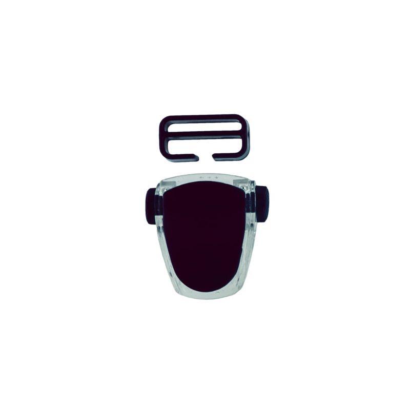 Buckle for mask Frameless Neon, Viper, Tiara II - black T05127-04 OPTI