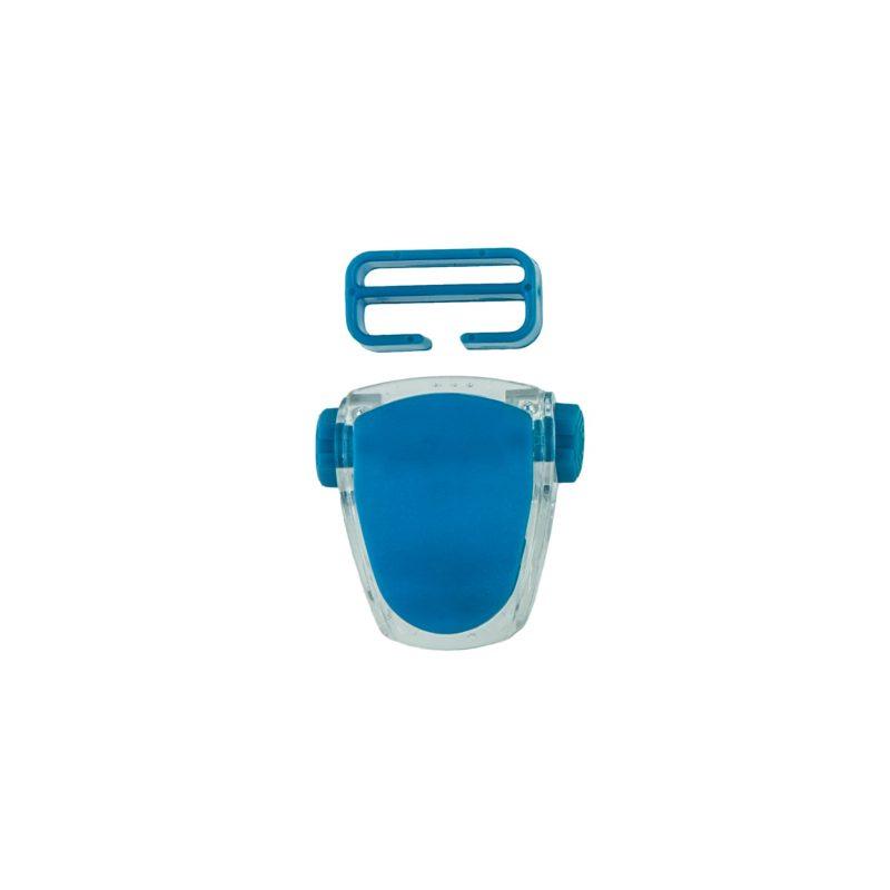Buckle for mask Frameless Neon, Viper, Tiara II - neon blue T05127-01 OPTI