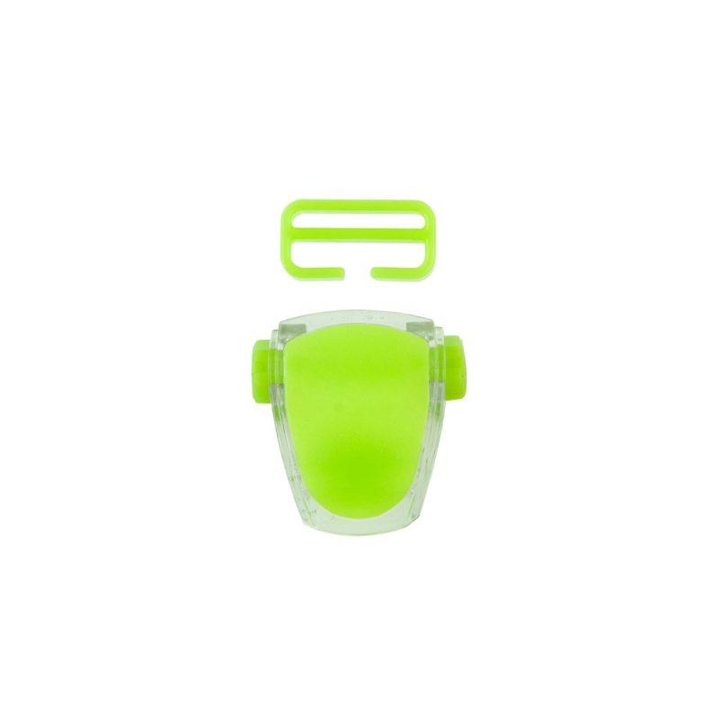Buckle for mask Frameless Neon, Viper, Tiara II - neon green T05127-02 OPTI