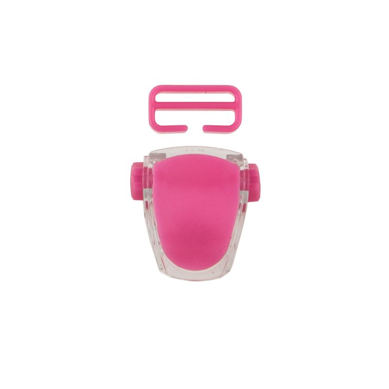 Buckle for mask Frameless Neon, Viper, Tiara II - neon pink T05127-03 OPTI