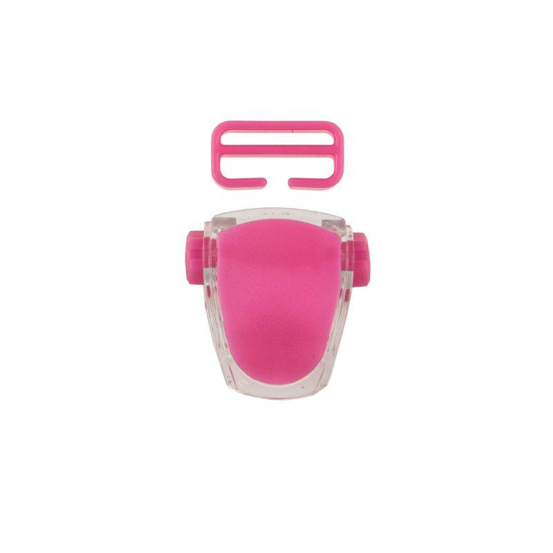Buckle for mask Frameless Neon, Viper, Tiara II - neon pink T05127-03 OPTI